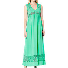 Buy Ghost Andrea Dress, Green Online at johnlewis.com