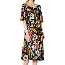 Buy Ghost Jada Dress, Garden Floral Online at johnlewis.com