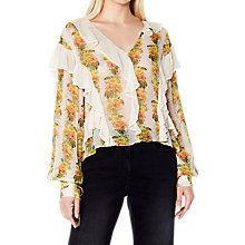 Buy Ghost Ava Blouse, Jungle Stripe Online at johnlewis.com