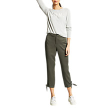 Buy Mint Velvet Tie Bottom Trousers Online at johnlewis.com