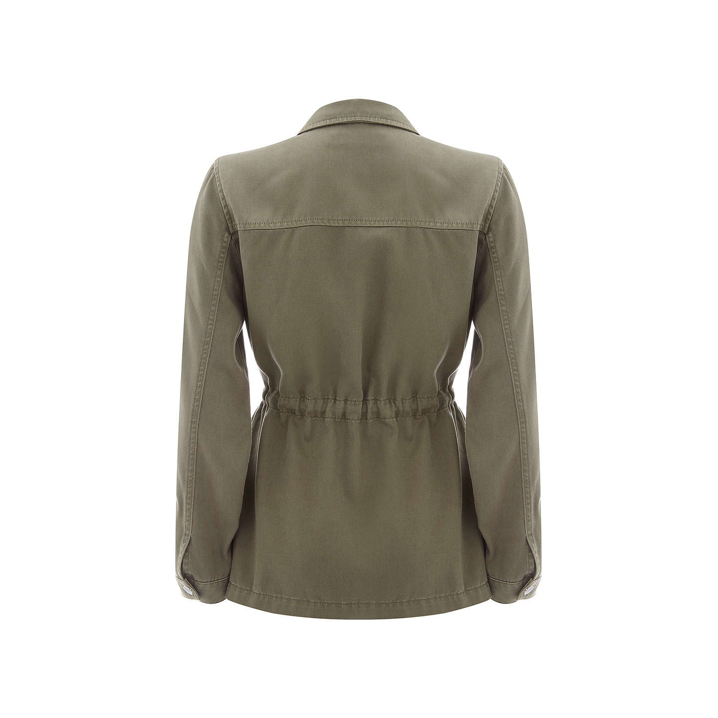 BuyMint Velvet Palm Leaf Embroidered Jacket, Light Green, 6 Online at johnlewis.com