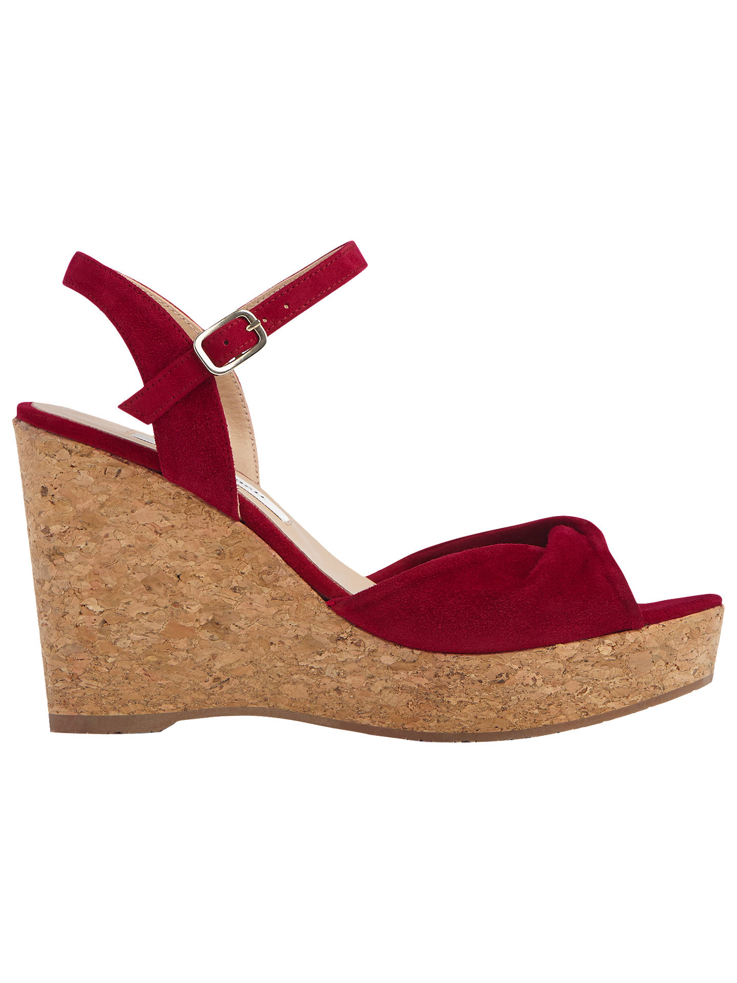 d40b9f6ccf2 L.K.Bennett Adeline Wedge Heel Sandals at John Lewis & Partners