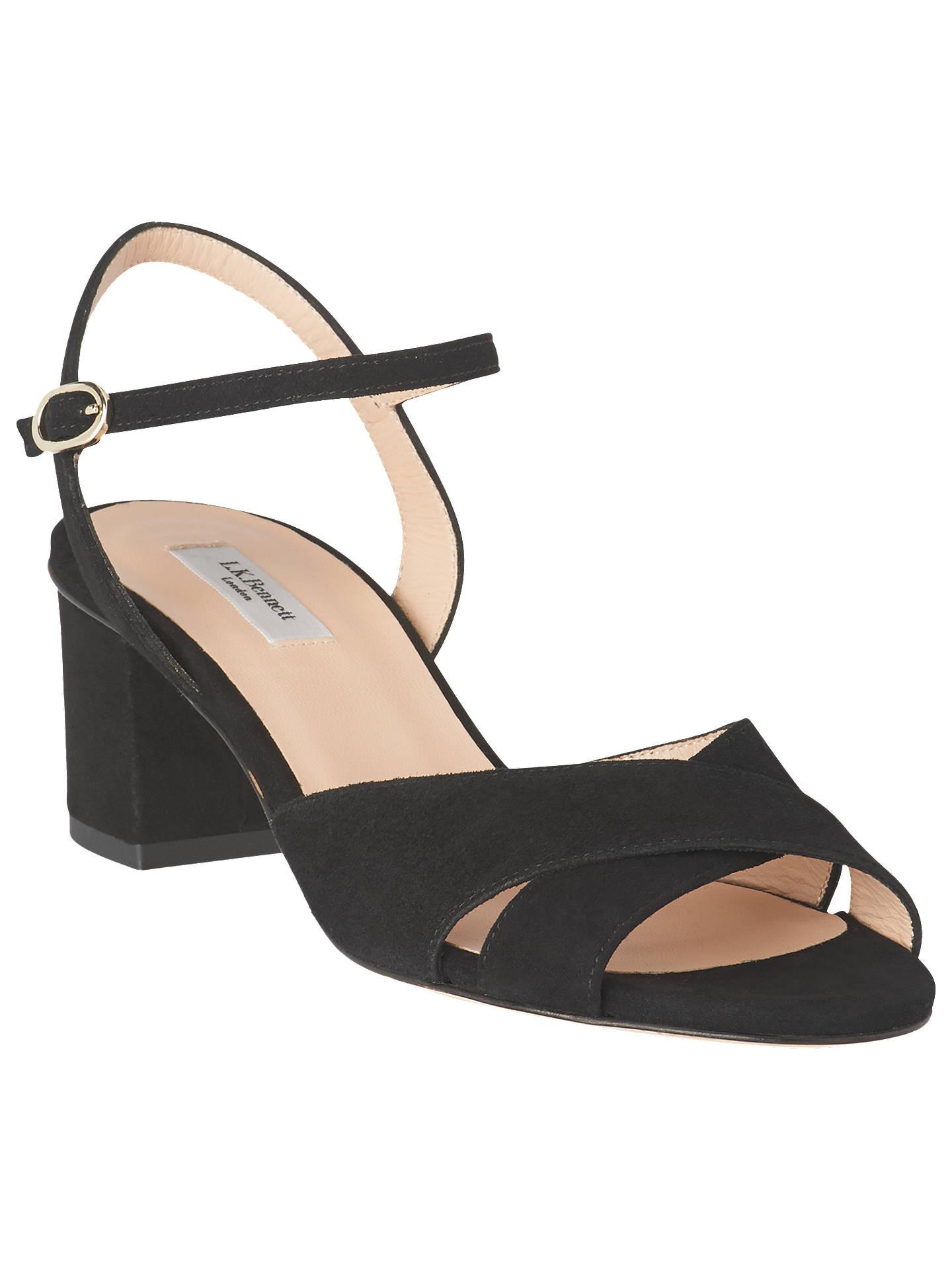 fd92b2b25b76 L.K.Bennett Tabitha Formal Block Heel Sandals at John Lewis   Partners