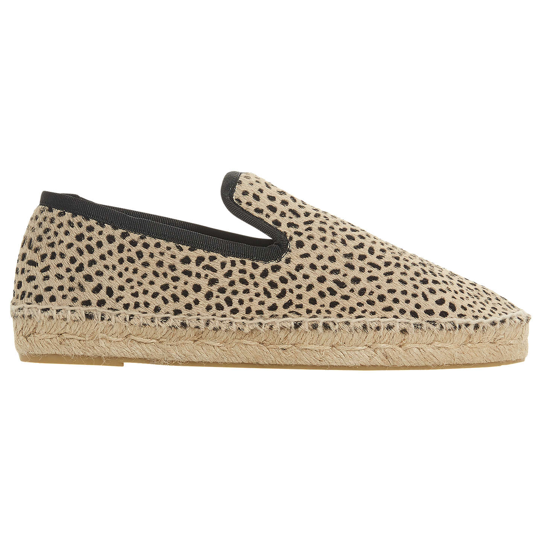 BuyDune Black Leiria Espadrille Loafers, Leopard Print, 3 Online at  johnlewis.com ...