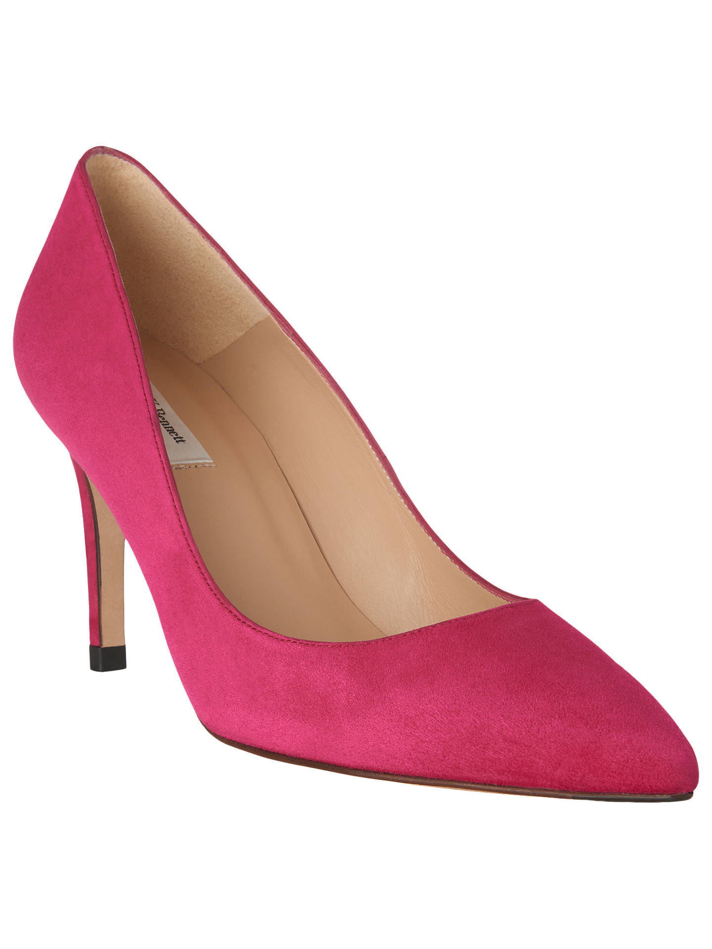 36b26932ca16 Buy L.K.Bennett Florete Pointed Toe Court Shoes, Pink, 2 Online at  johnlewis.