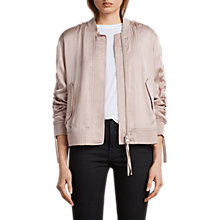 Buy AllSaints Ellis Bomber Jacket Online at johnlewis.com
