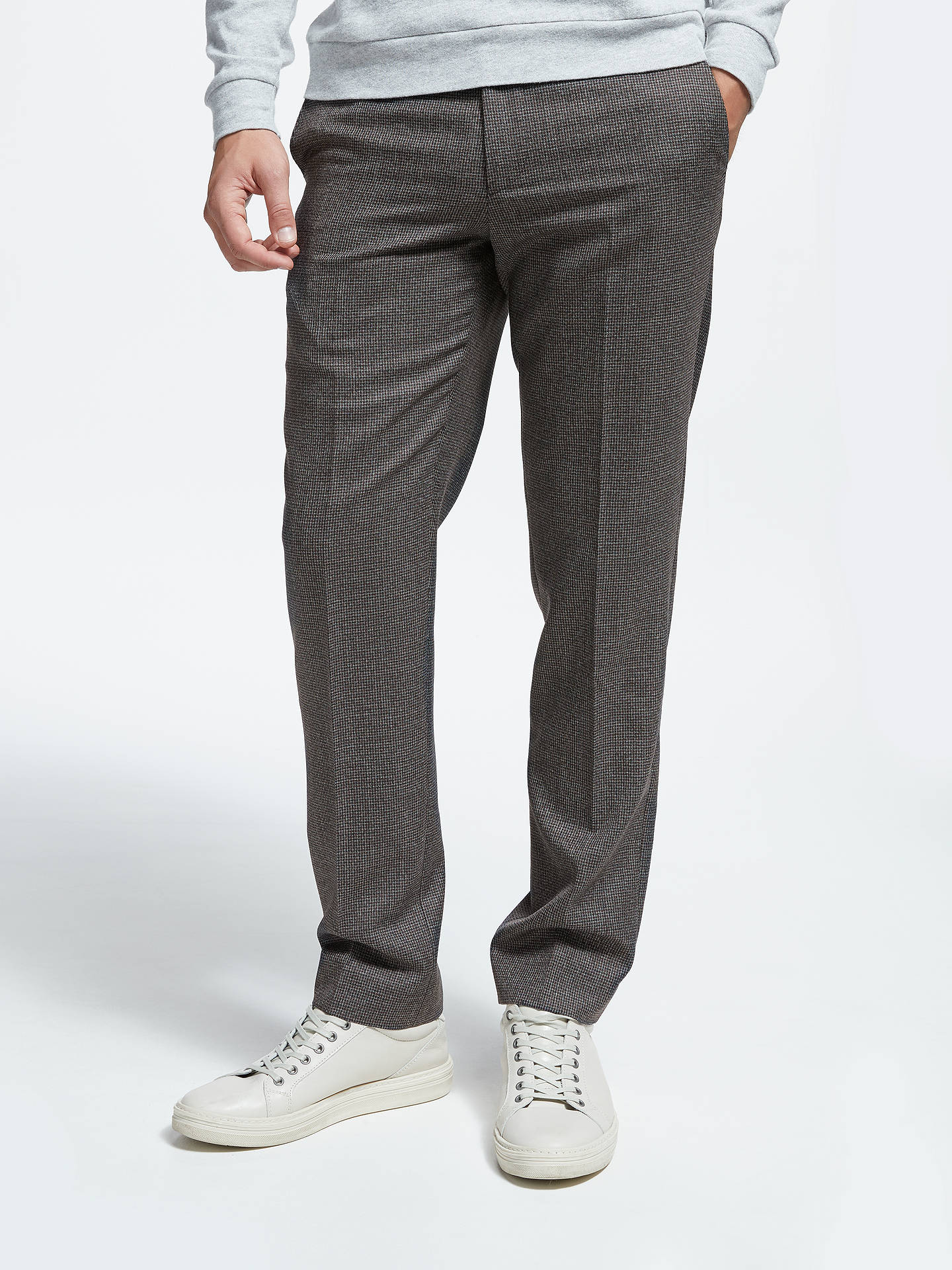 317d94da707d Buy Kin Puppytooth Slim Fit Suit Trousers
