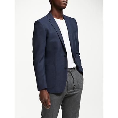 Kin Semi Plain Slim Fit Blazer, Navy