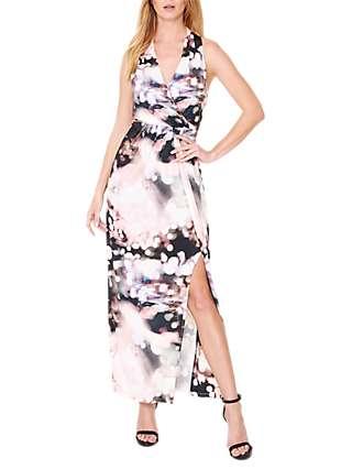 Damsel in a Dress City Lights Print Maxi Dress, Multi