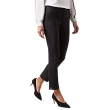 Buy Hobbs Annie Trousers, Black Online at johnlewis.com
