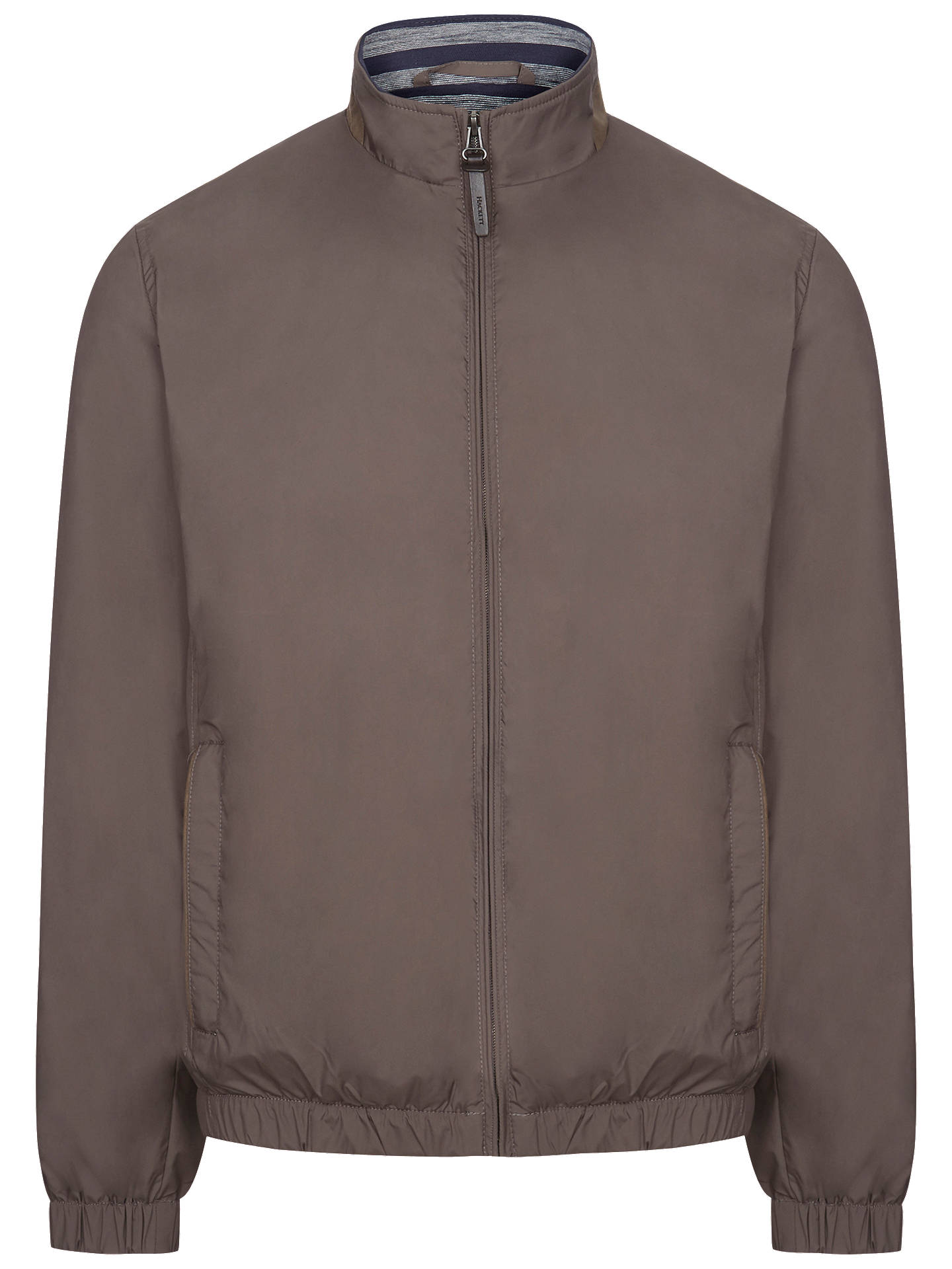 sells matching in colour street price Hackett London Casual Bomber Jacket at John Lewis & Partners