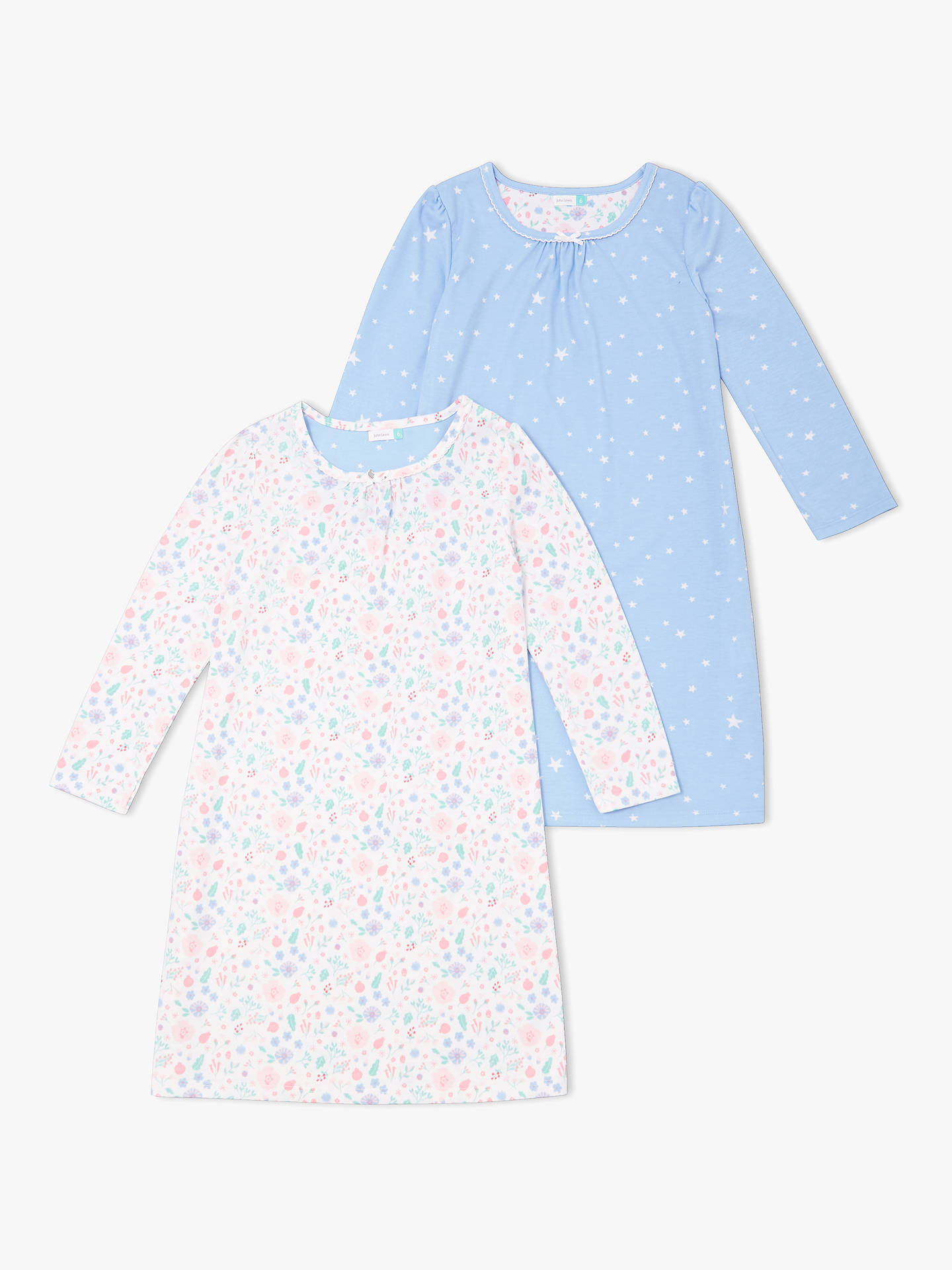 cc263df4e Buy John Lewis   Partners Girls  Folky Floral Night Dress