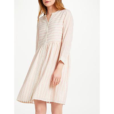 Numph Chihiro Dress, Hot Coral
