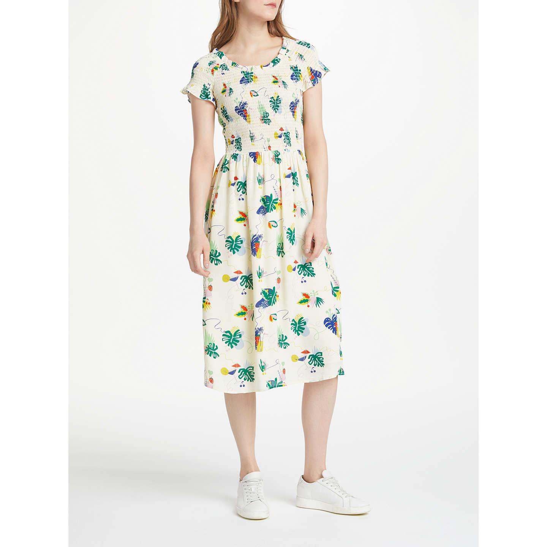 BuyNumph Cydney Dress, White, 8 Online at johnlewis.com ...