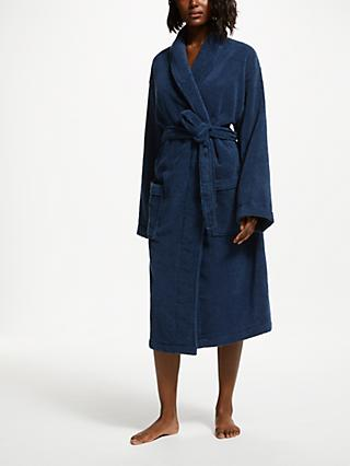 Blue Mens Robes Dressing Gowns John Lewis Partners