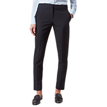 Buy Hobbs Ayla Trousers, Navy Online at johnlewis.com