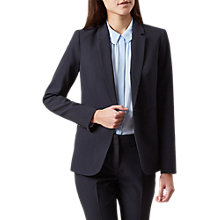 Buy Hobbs Ayla Jacket, Navy Online at johnlewis.com
