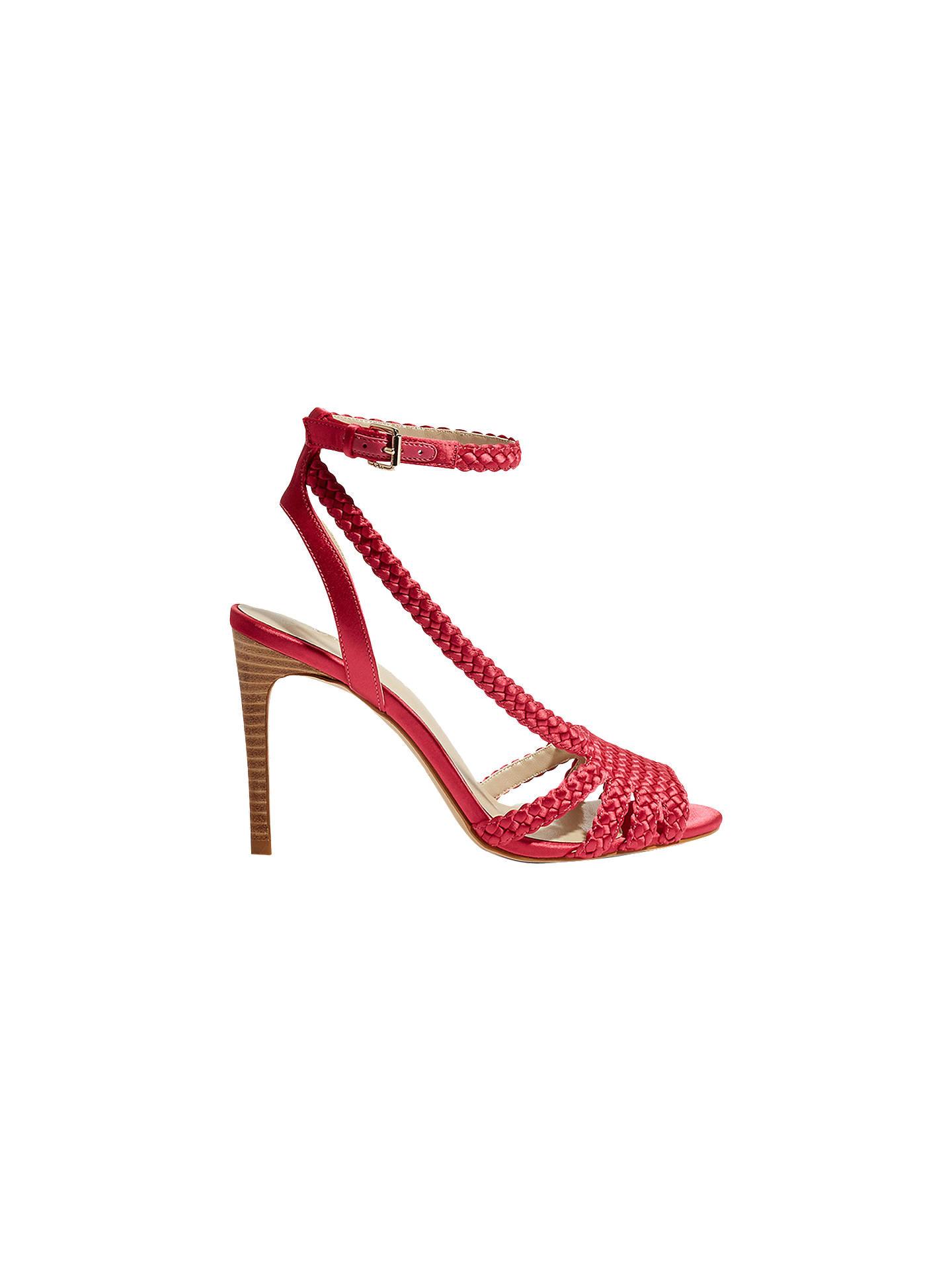 c445bbd16ff Buy Karen Millen Plaited Stiletto Heel Sandals