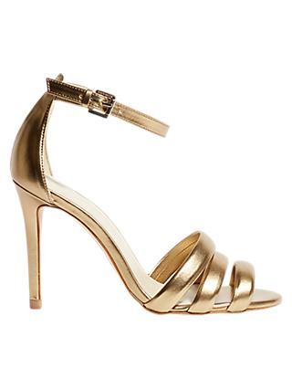 b511c5f54b49 Karen Millen Tubular Collection Heeled Sandals