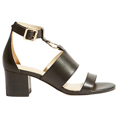 Karen Millen O-Ring Block Heel Sandals