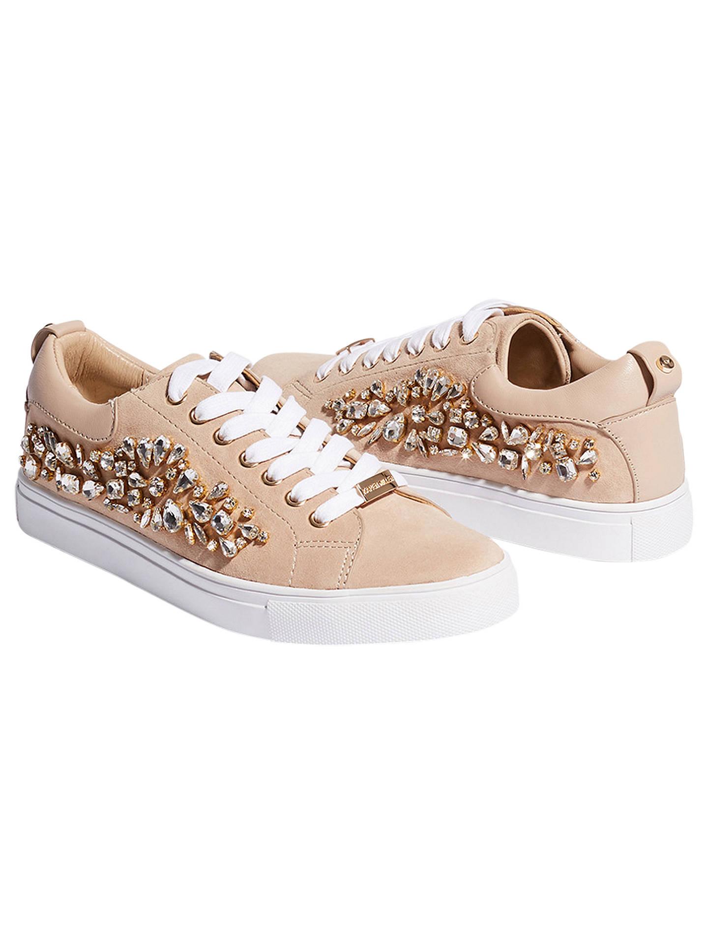 5480b43b76a1b0 ... Buy Karen Millen Jewel Embellished Lace Up Trainers