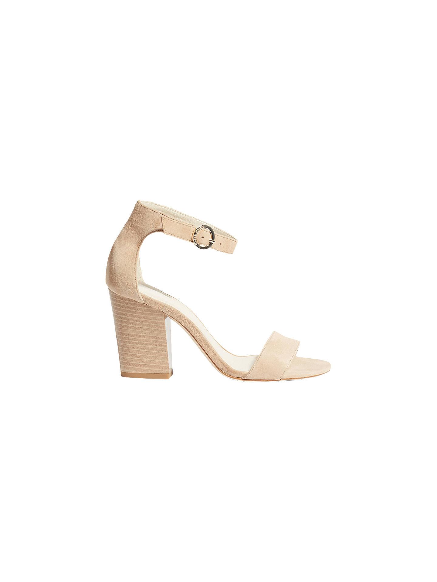 e95c0780b80 Karen Millen Open Toe Block Heel Sandals at John Lewis   Partners