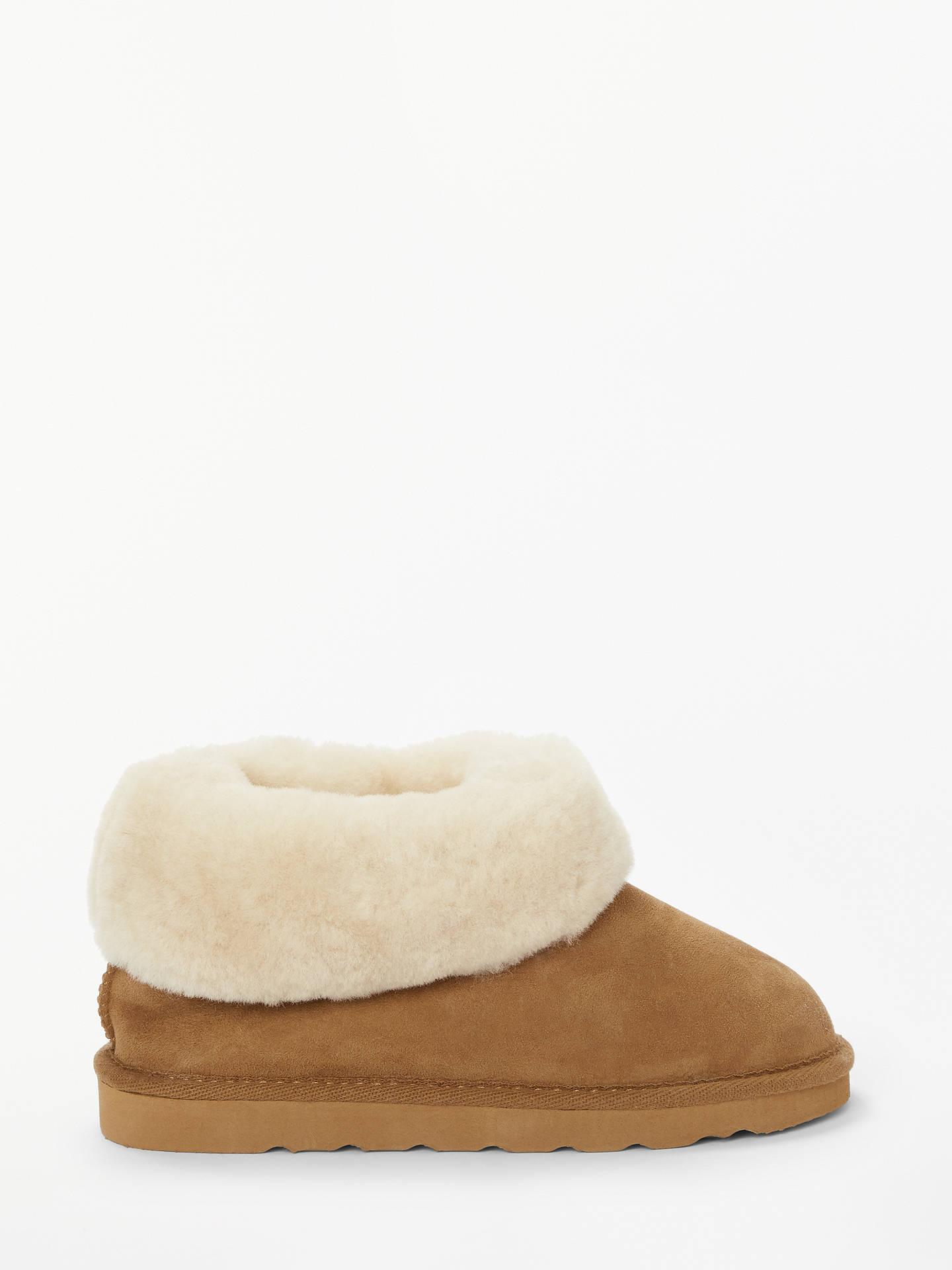 50562f661 Buy John Lewis & Partners Eva Sheepskin Slipper Boots, Chestnut, 3 Online  at johnlewis ...