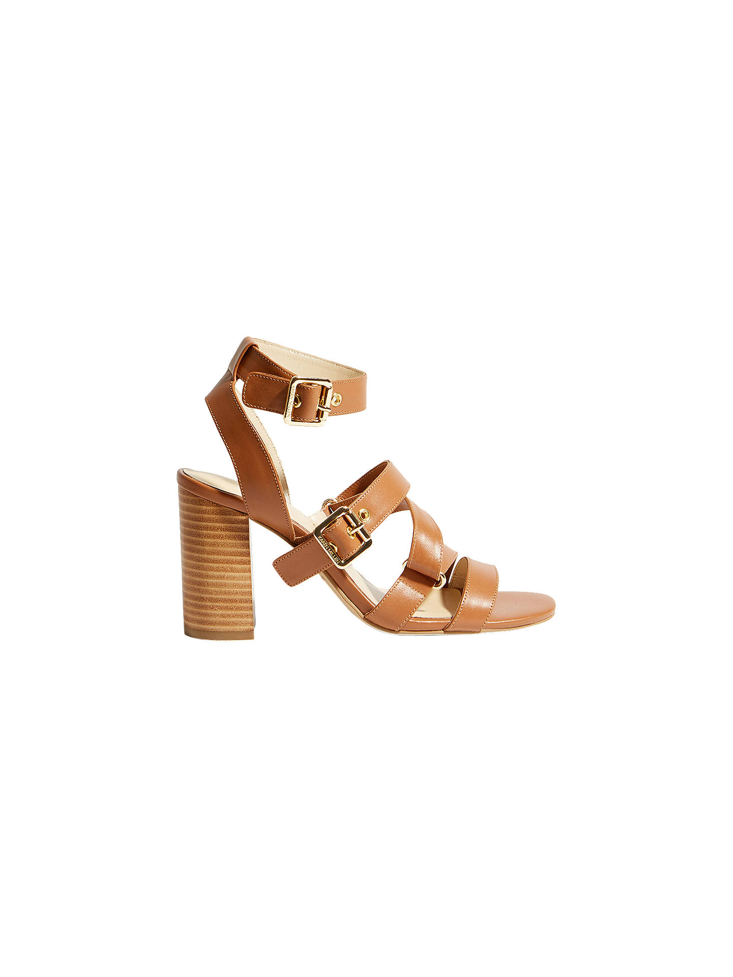 c30addfbe2af Buy Karen Millen Strappy Block Heel Sandals