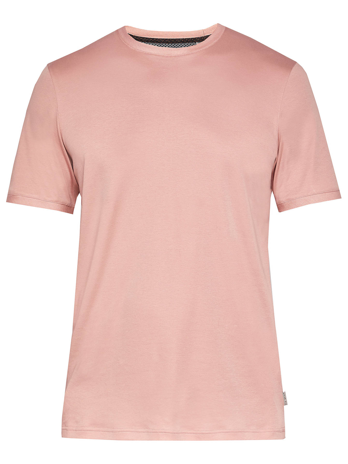 Buy Ted Baker T for Tall Piktt T-Shirt, Dusky Pink, 1 Online at johnlewis.com