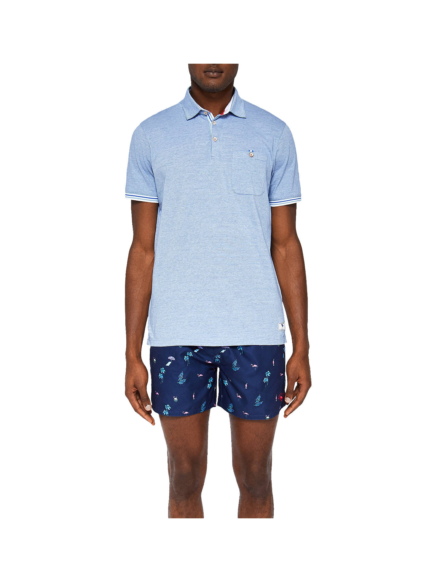 9e402838a6 ... Buy Ted Baker Gusty Swim Shorts, Navy, 1 Online at johnlewis.com ...