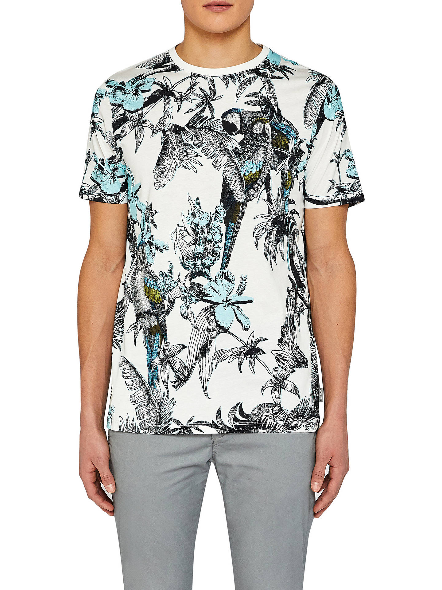 2951cc6798938e Ted Baker Plutto Printed T-Shirt at John Lewis   Partners