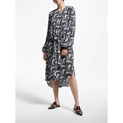 Modern Rarity Archive Print Double Layer Dress, Multi