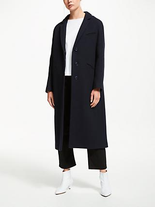 Kin Relaxed Fit Coat, Navy