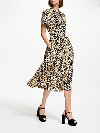 Somerset by Alice Temperley Leopard Print Shirt Dress d725afd77