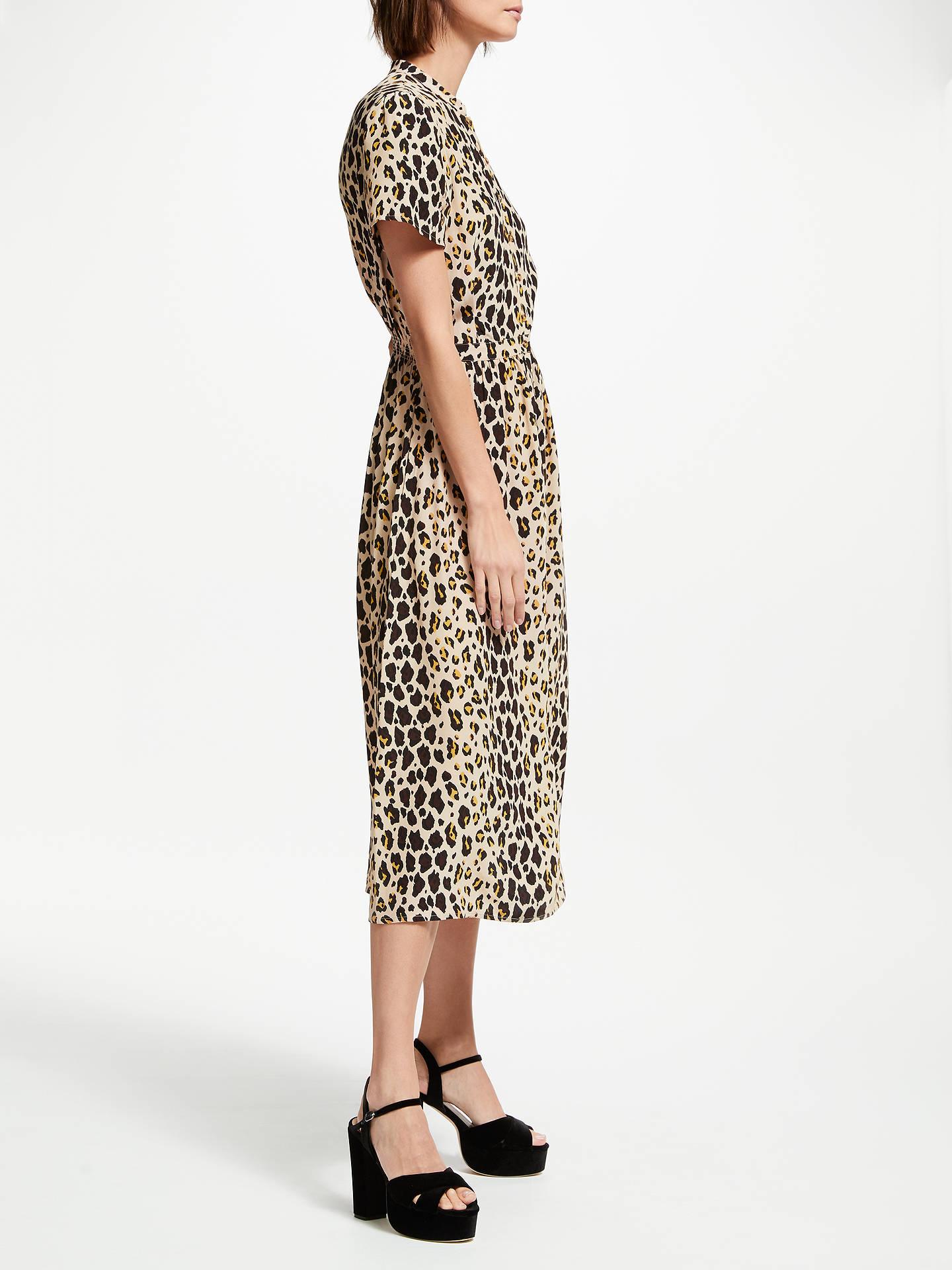 b3b9128dd8 BuySomerset by Alice Temperley Leopard Print Shirt Dress