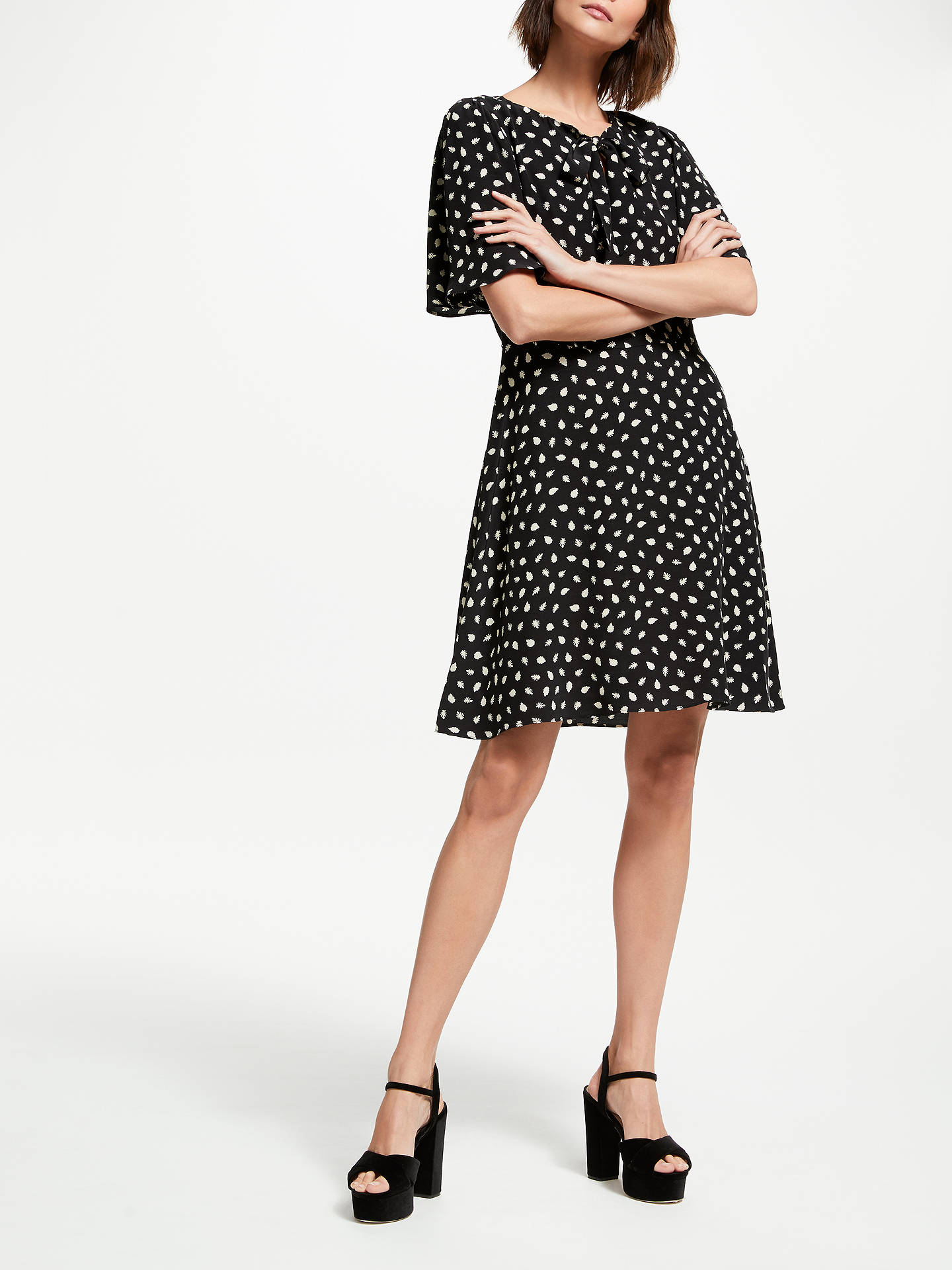Buy Somerset by Alice Temperley Acorn Mini Dress, Black, 10 Online at johnlewis.com