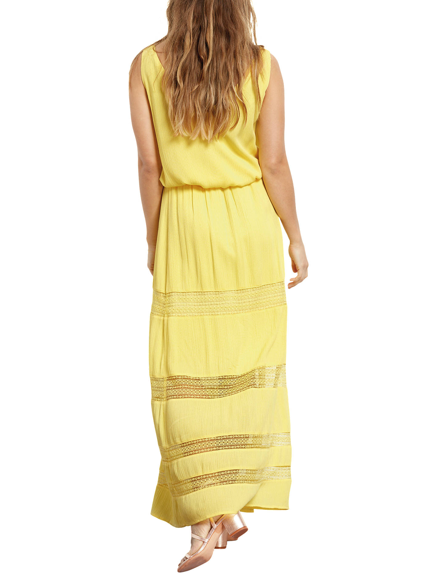 9a3c53df57 ... Buy hush Lace Insert Maxi Skirt, Goldfinch, 6 Online at johnlewis.com  ...