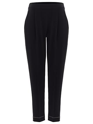Phase Eight Trixie Topstitch Peg Trousers, Navy