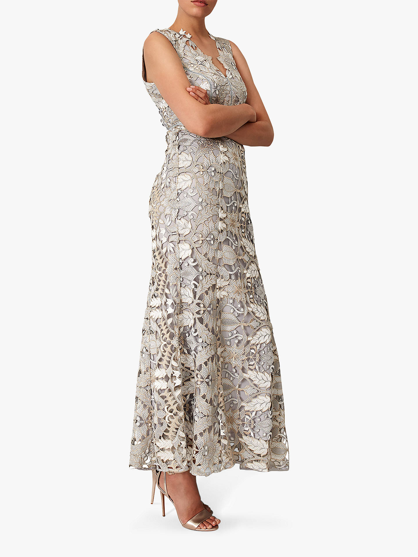 0c9e260710c Phase Eight Collection 8 Zoey Lace Maxi Dress at John Lewis   Partners