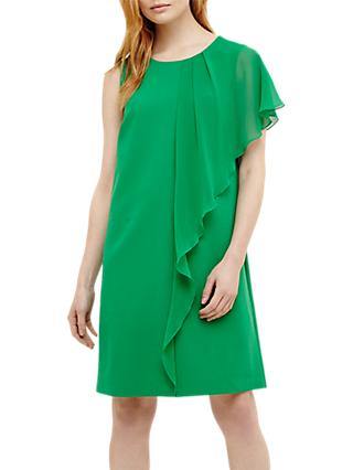 Phase Eight Morganna Frill Dress, Green