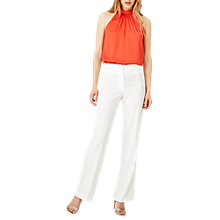 Buy Damsel in a Dress Avalia Tux Trousers, Ivory Cream Online at johnlewis.com