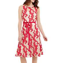 Buy Phase Eight Adele Embroidered Dress, Pink Online at johnlewis.com