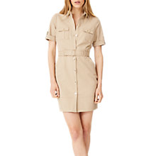 Buy Damsel in a Dress Fia Safari Dress, Stone Online at johnlewis.com