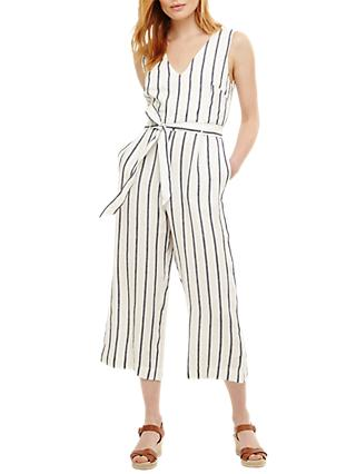 cbf9685a012 Phase Eight Jennie Linen Stripe Jumpsuit