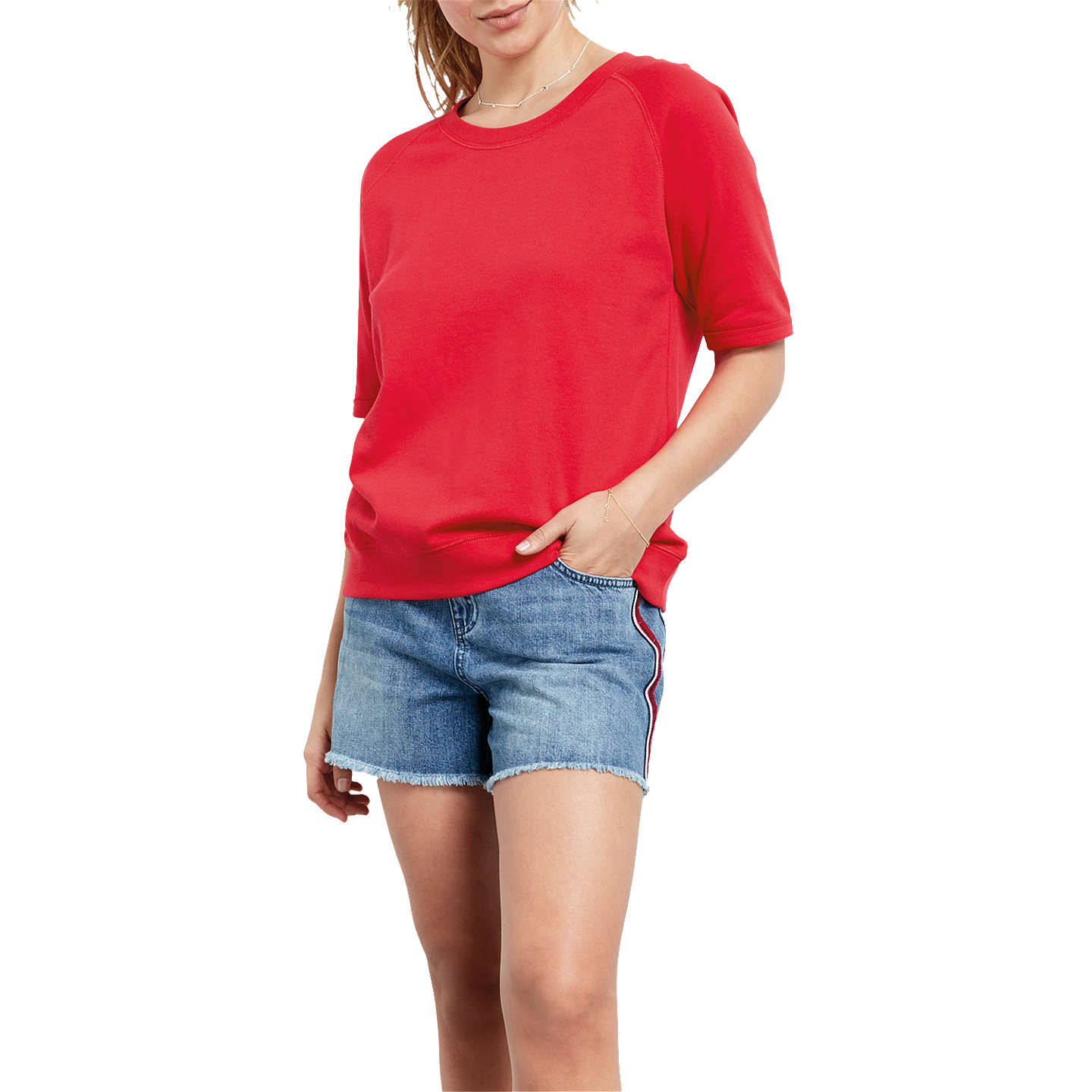 Hush Puppies Washed Sloppy Joe Sweat Top Low Price Online Outlet Discount Authentic fQEejVHoeW