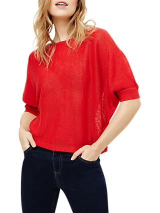 Phase Eight Delmi Linen Batwing Jumper