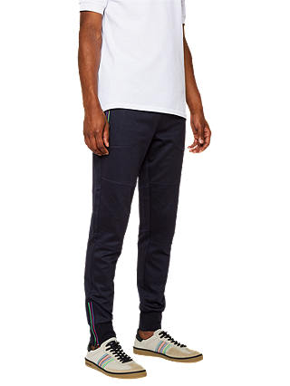 Buy PS Paul Smith Track Pant Trousers, Blue, S Online at johnlewis.com