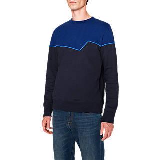 PS Paul Smith Contrast Sweatshirt, Navy/Blue