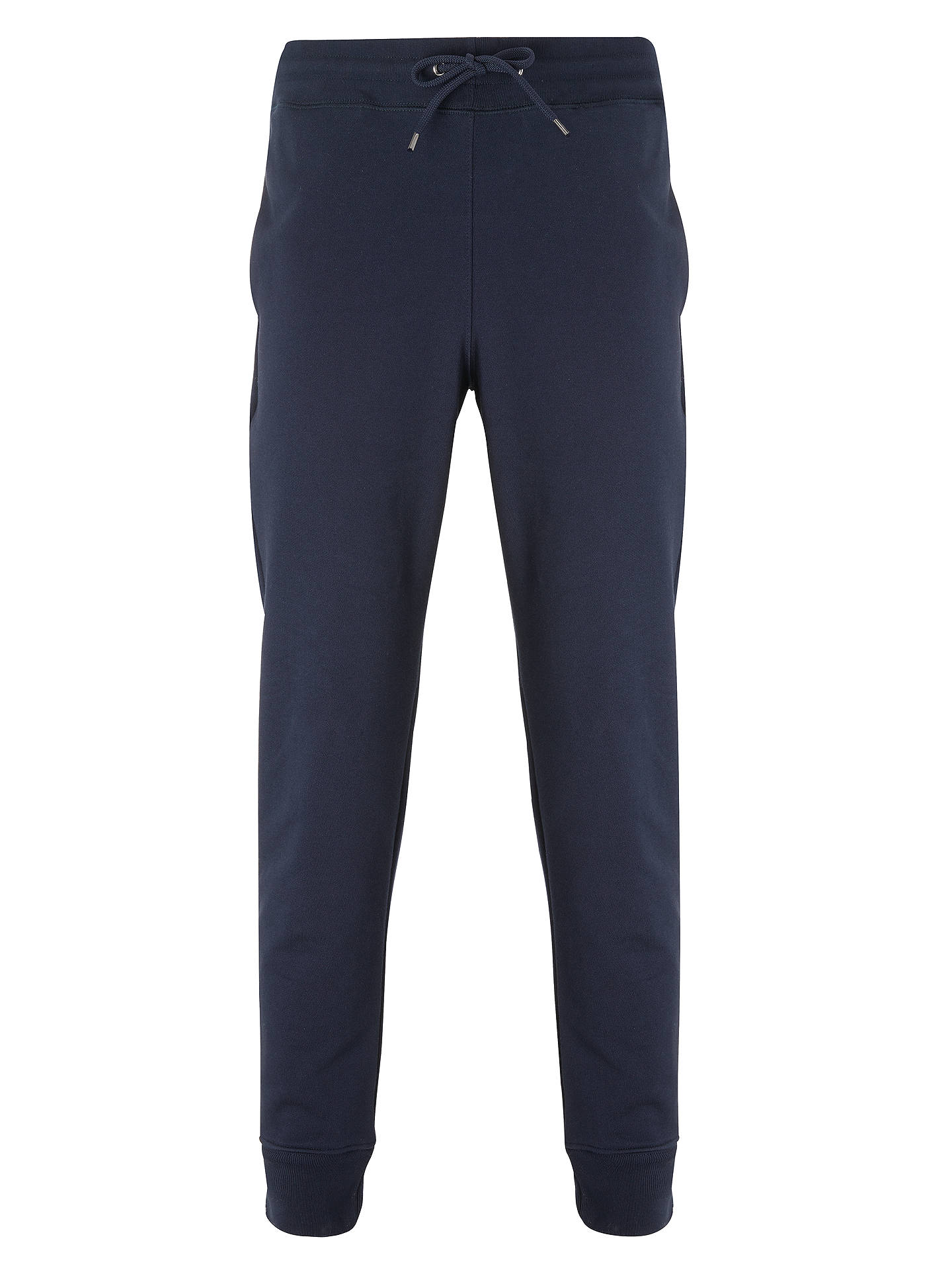 Buy PS Paul Smith Cotton Jersey Joggers, Navy, M Online at johnlewis.com