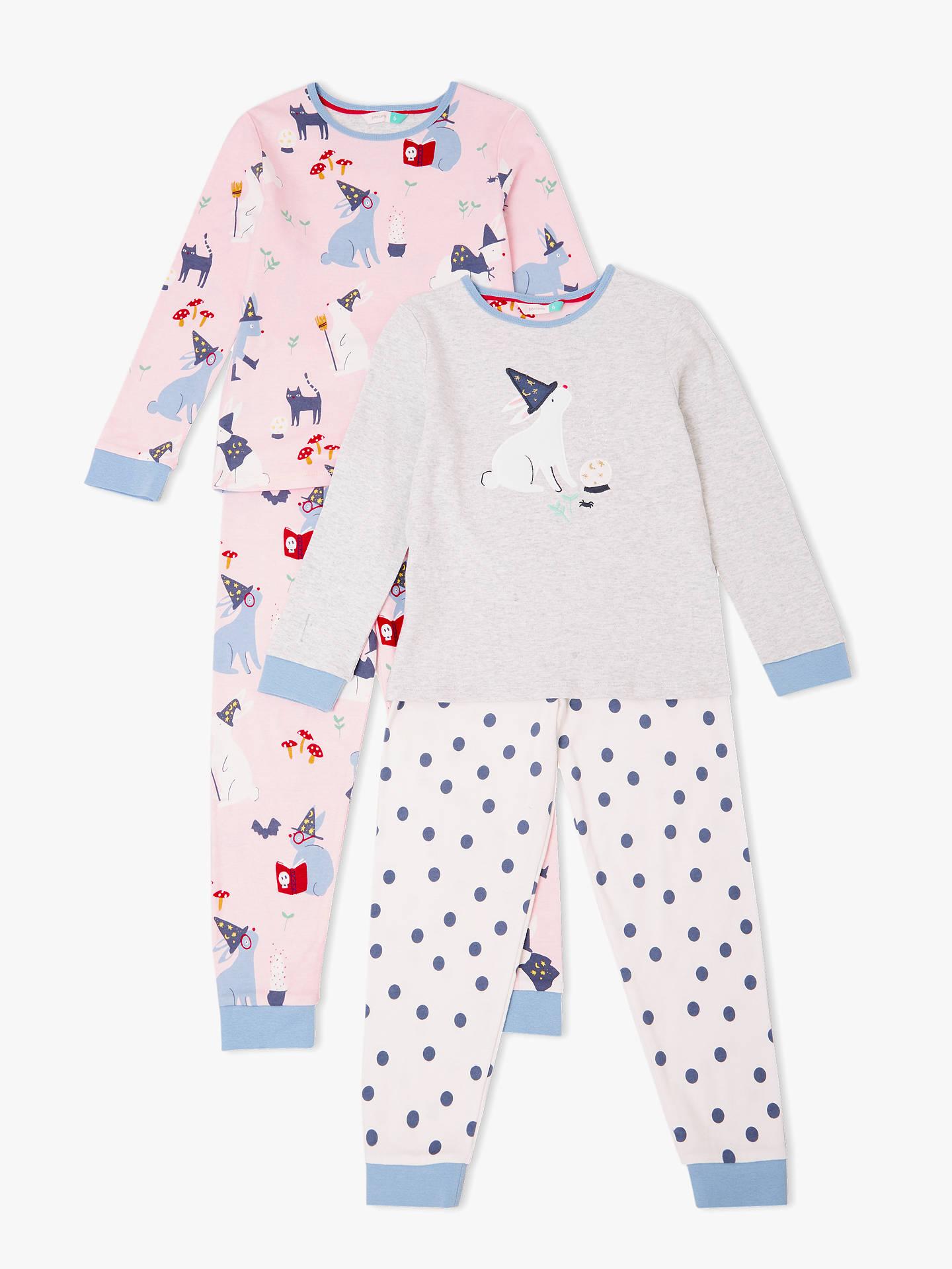 b5ef70eb5 John Lewis   Partners Girls  Bunny Spells Pyjamas